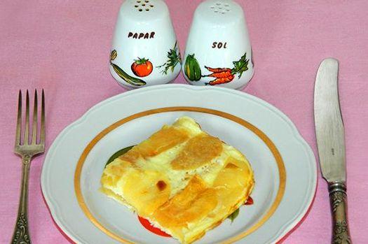 Яичница с яблоками - фото шаг 7