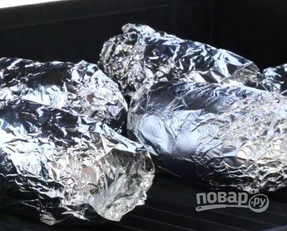 Запеченные картофельные вулканчики - фото шаг 2