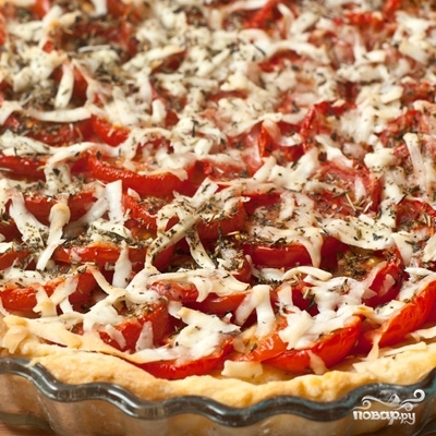 Тарт с помидорами черри - фото шаг 8