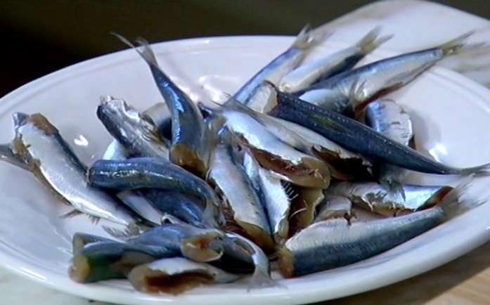 Рецепт Запеченные сардины