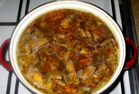 Суп из белых грибов сушеных - фото шаг 4
