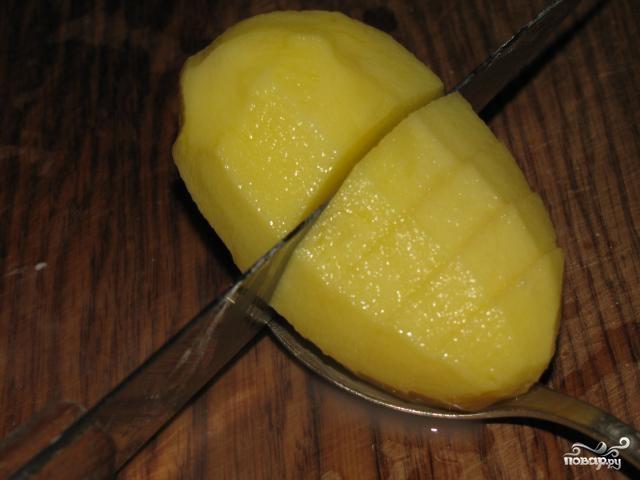 Картофель по-швейцарски - фото шаг 1