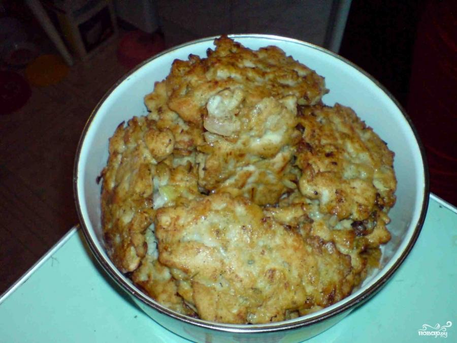 Рубленные куриные котлеты с майонезом рецепт