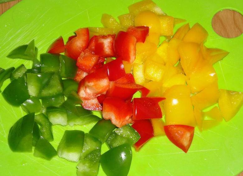 Овощной салат на скорую руку - фото шаг 4