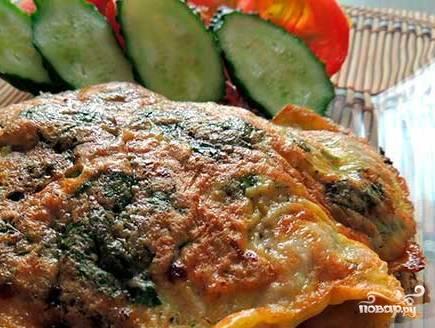 Мясо в кляре на сковороде