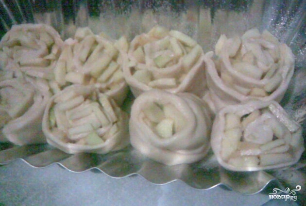 Яблочные сухарики - фото шаг 6