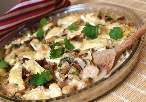 Филе курицы с грибами - фото шаг 6