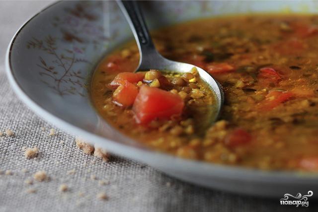 Суп из маша со специями