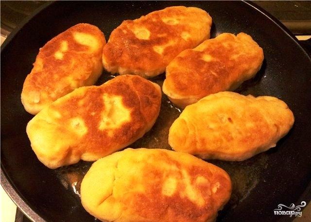 Постные пирожки с картошкой - фото шаг 7