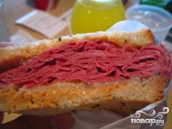 Рецепт Хлеб с итальянской начинкой