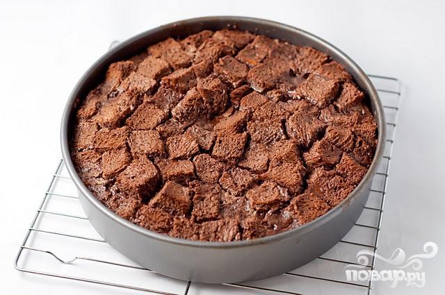 Хлебный пудинг с шоколадом - фото шаг 4