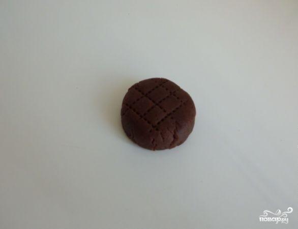 Шоколадное печенье с какао - фото шаг 4