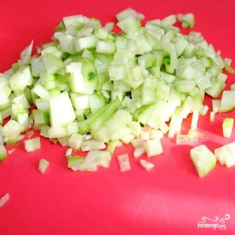 Сытный новогодний салат - фото шаг 13