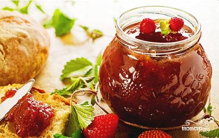 Рецепт Земляника с сахаром на зиму