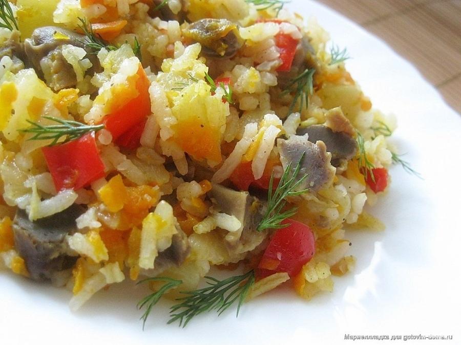 желудки с картошкой в духовке рецепт с фото