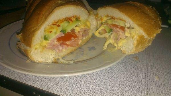 Мужской бутерброд - фото шаг 12