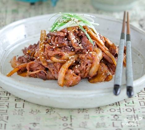 Свинина по-корейски