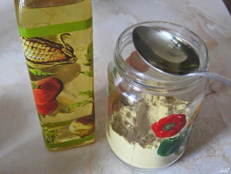 Горчица из горчичного порошка - фото шаг 2