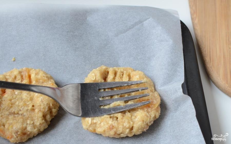 Овсяное печенье с курагой - фото шаг 9