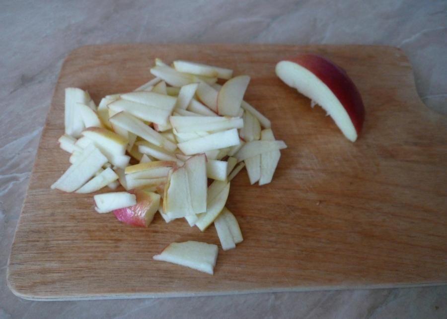 Салат с копченым мясом - фото шаг 3