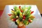 Салат Корзинка с цветами