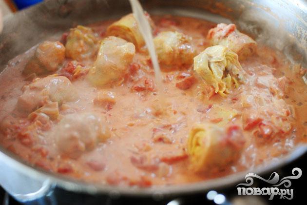 Спагетти с овощами - фото шаг 10