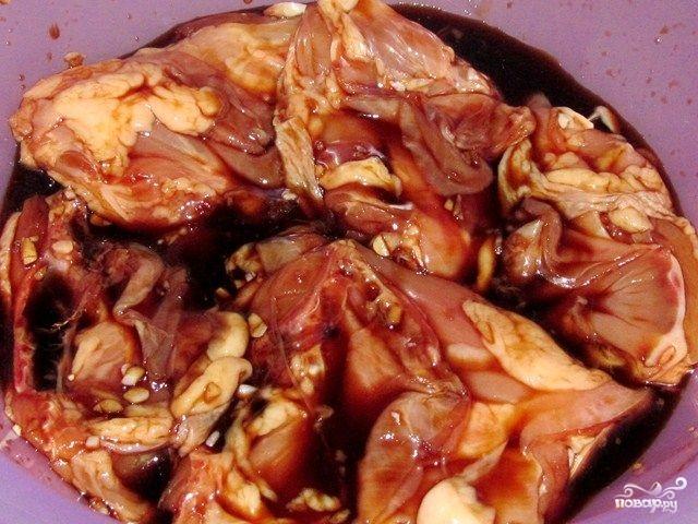 Как сделать маринад для курицы на шашлык