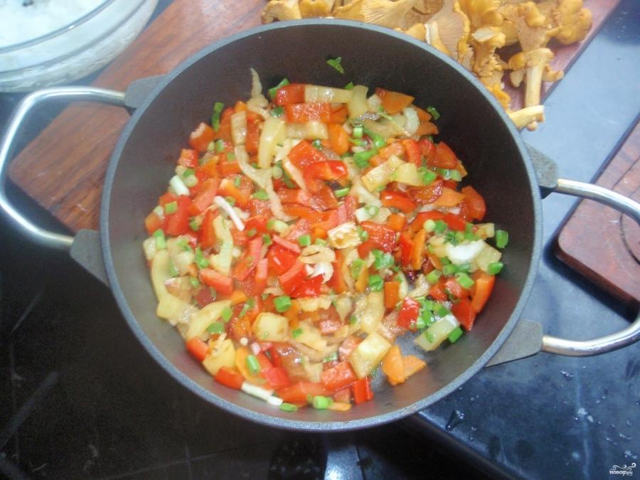 Постный плов с овощами - фото шаг 2