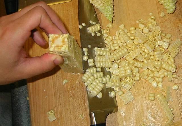Рецепт Оладьи из кукурузы
