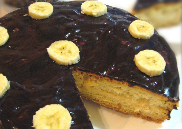 Самый быстрый бисквитный торт - фото шаг 11