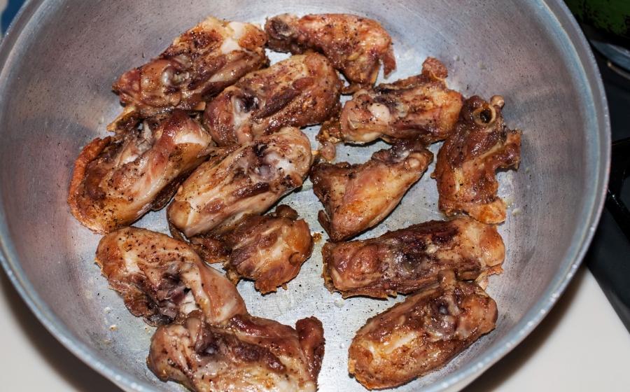 Курица с помидорами - фото шаг 3