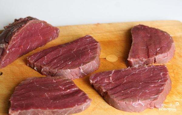 Лангет из говядины на сковороде - фото шаг 2