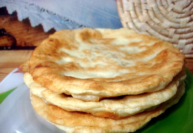 Лепешки с сыром на сковороде - фото шаг 10
