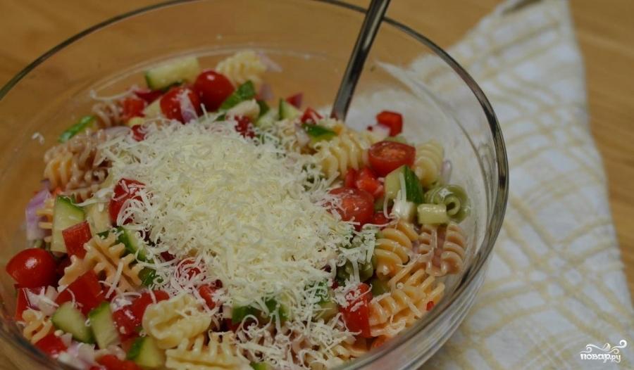 Итальянский салат с пастой - фото шаг 4