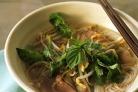 Вьетнамский говяжий суп с лапшой с имбирем