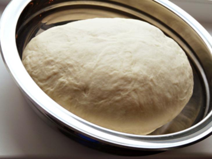 Тесто для кыстыбый на молоке - фото шаг 3