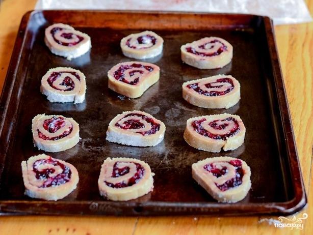 Печенье с клюквой - фото шаг 9