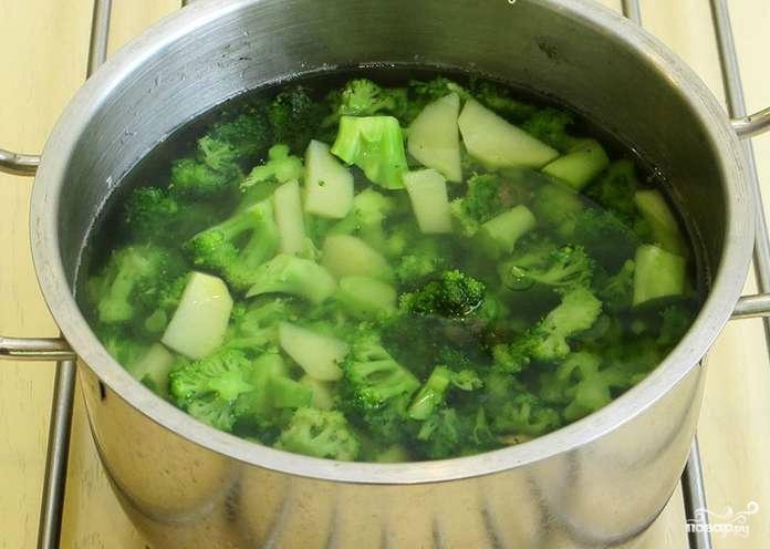приготовить суп из брокколи рецепт в блендере