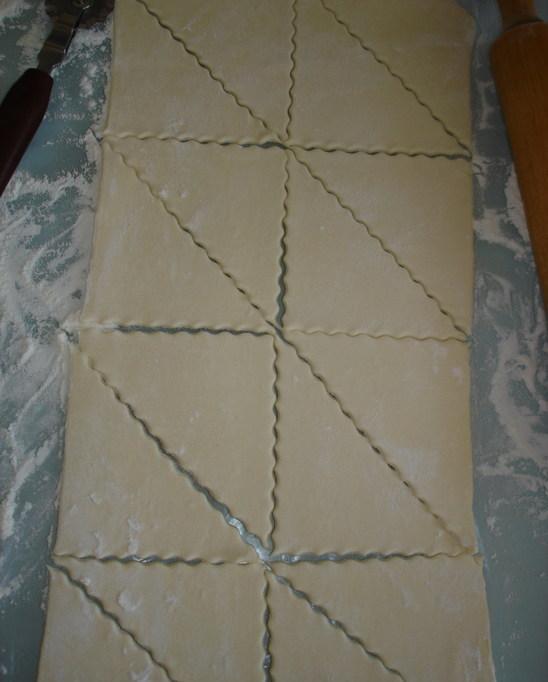 Рецепт Закусочные пирожки с грибами и сыром