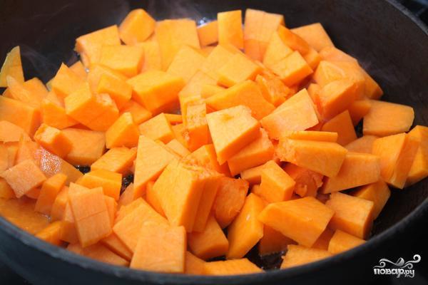 Томатный суп с тыквой - фото шаг 1