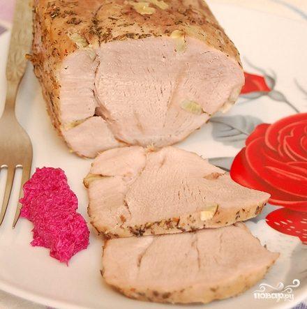 Рецепт Буженина из говядины