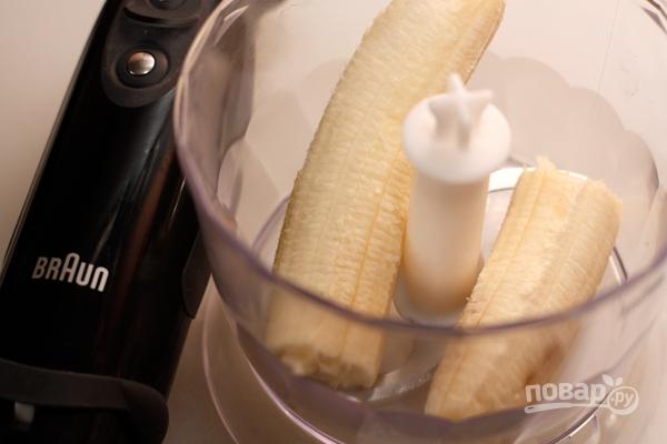 Горячий банановый коктейль с шоколадом