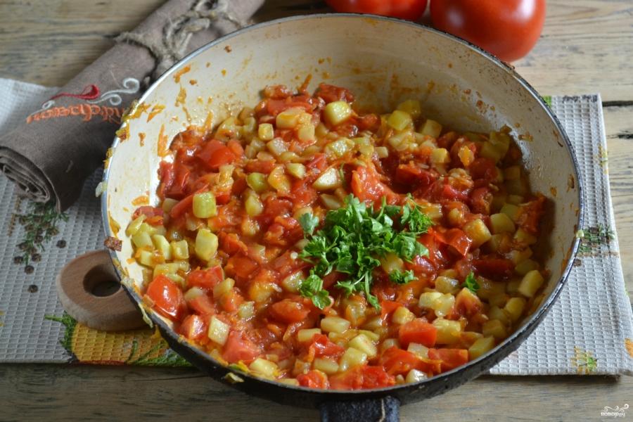 Вегетарианская паста - фото шаг 6
