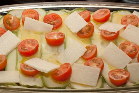 Запеканка мясная с кабачками - фото шаг 4
