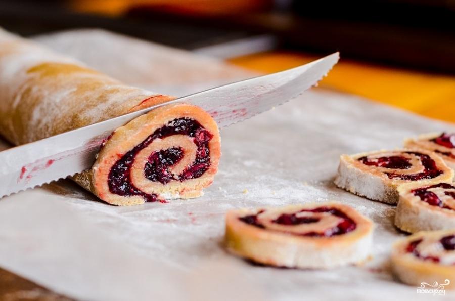Печенье с клюквой - фото шаг 8