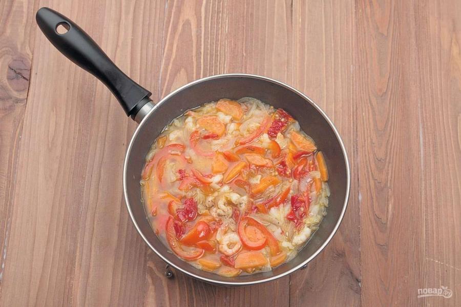 Суп из панцирей креветок - фото шаг 5