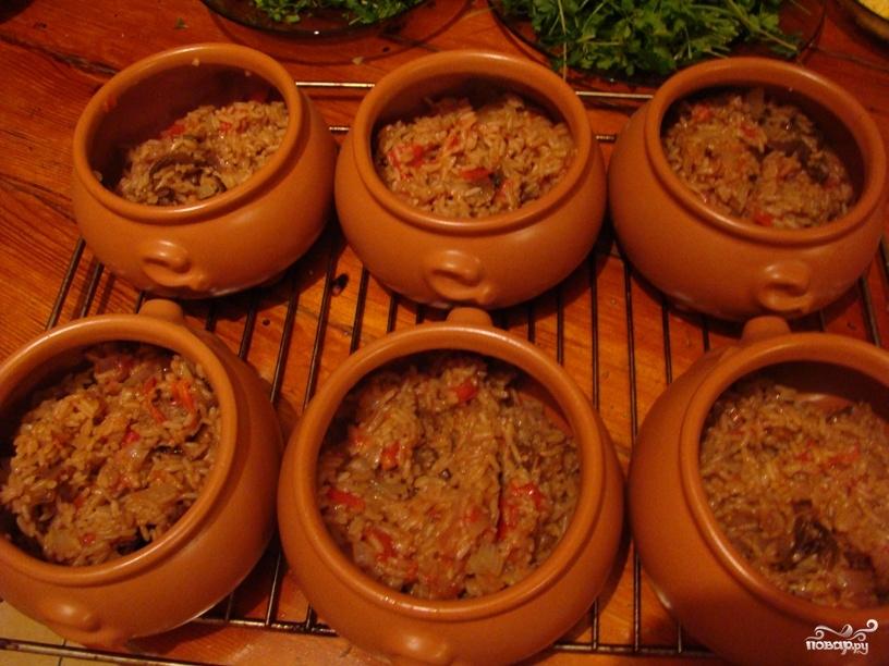приготовить рис в духовке рецепт