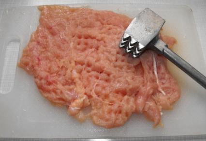 Рецепт Курица в кляре на сковороде