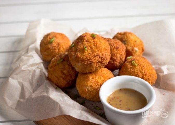 Картофельные фрикадельки