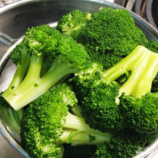 Жареная брокколи - фото шаг 4